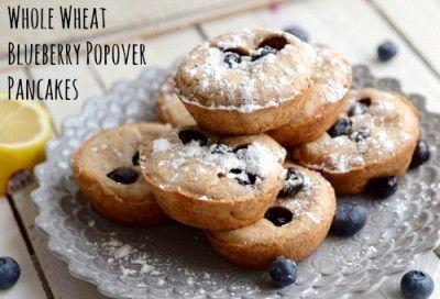 lemon blueberry popover pancakes lemon blueberry pancakes bagel ...