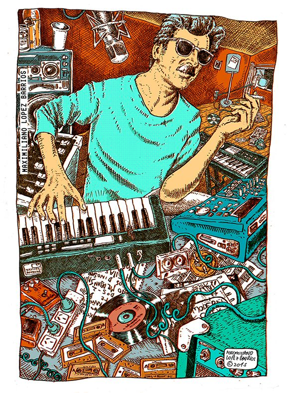Charly Garcia, de Maximiliano Lopez Barrios, 2015