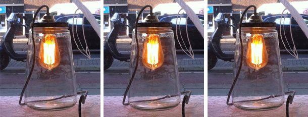 DIY Industriele lamp
