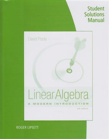 Linear Algebra: A Modern Introduction Student Solutions Manual  Description: Van dit artikel (9781285841953 / Linear Algebra: A Modern Introduction Student Solutions Manual) is nog geen omschrijving beschikbaar.  Price: 76.55  Meer informatie