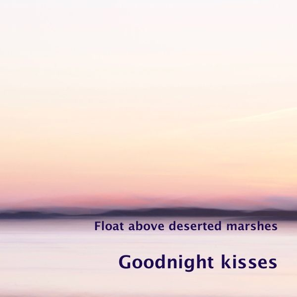 A light sigh is heard over the still waters, when the late sun kisses the earth at the beginning of a quiet night   'Goodnight kisses' is a photo in the series 'Float above d…