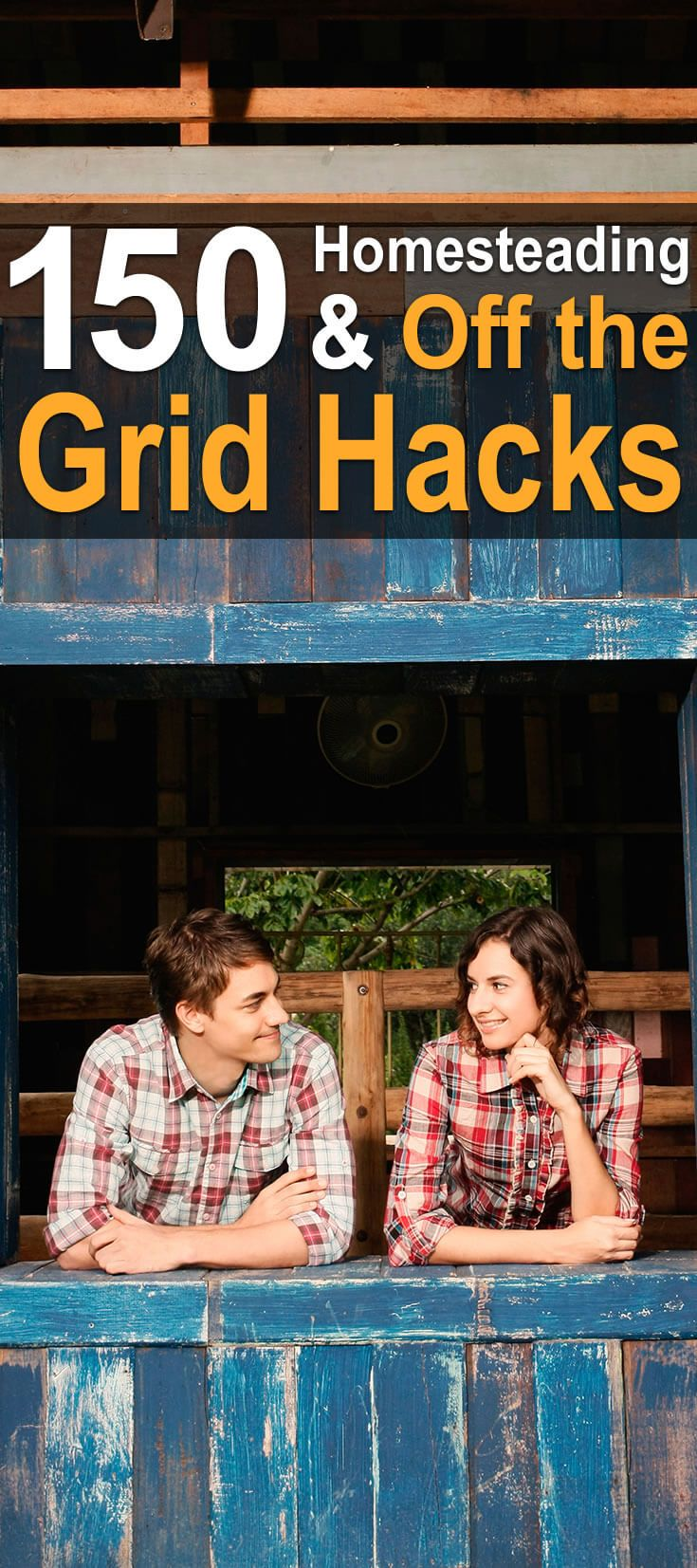 I was reading about homesteading hacks, and I came across two awesome articles. The first is about homesteading, and second is about off grid living.