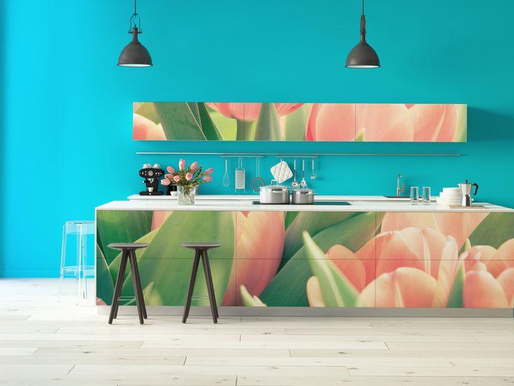 Ikea Diktad Wickelkommode Maße ~ Hol dir den Frühling in die Küche und gestalte diese ganz