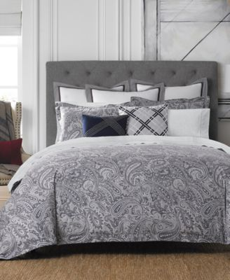 Tommy Hilfiger Josephine Paisley Bedding Collection | macys.com