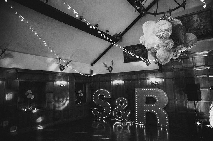 What a way to totally transform and personalise your dancefloor!