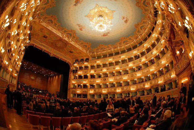 The Italian Landscapes Paesaggi italiani — Gran teatro La Fenice, Venezia (Grand Theater The...