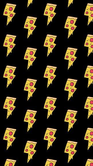 Pizza Lightning Bolts iPhone 6 / 6 Plus wallpaper