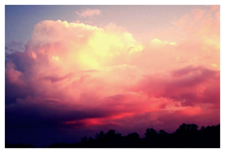 #sunset #pink #cloud #sky