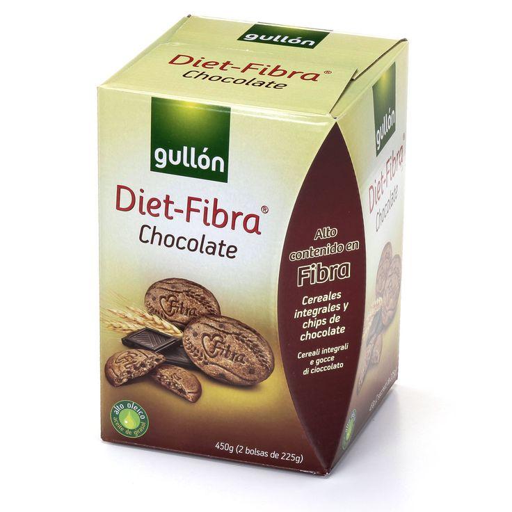 Diet - Fibra Chocolate Gullón (Eroski) - 1 unidad 0,5 puntos.