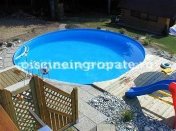 Set complet piscina rotunda Atlanta 600 X 150 CM