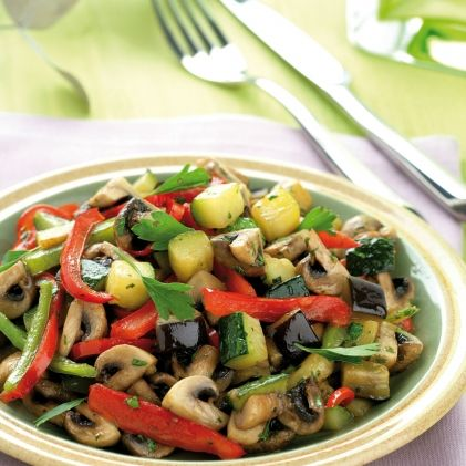 Mediterranean Vegetable Stir-fry
