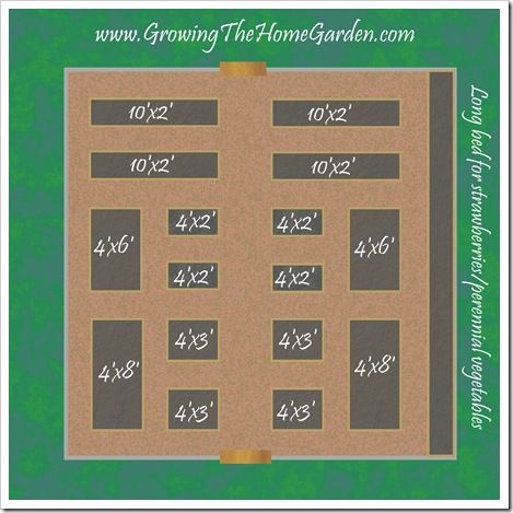 234 best Square FootRaised Bed Gardening images on Pinterest
