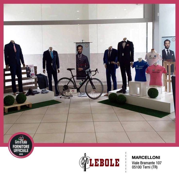 MARCELLONI, Terni - I nostri Clienti festeggiano il Giro d'Italia 2015 e presentano l'abito esclusivo prodotto da LEBOLE per il Giro #lebolegiro2015 #lebole #abito #modauomo #fashion #stile
