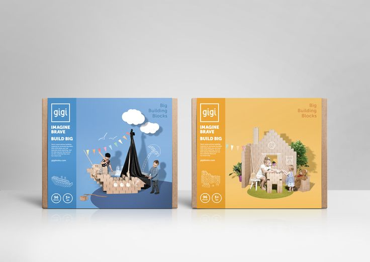 GIGI Bloks — The Dieline - Branding & Packaging