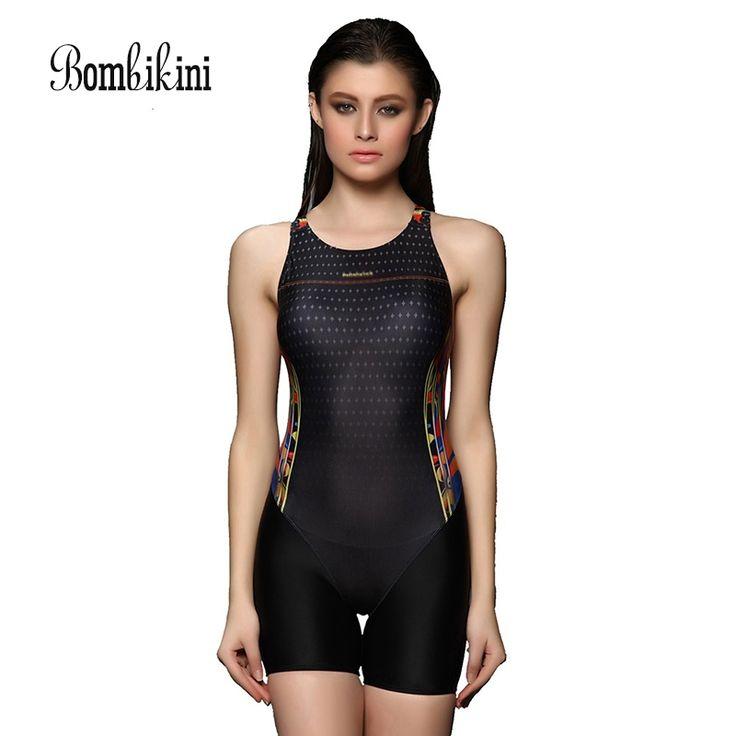 Body Swimwear Body Suits Boyshorts Sports Women Swimsuit  Competition Swim Suit