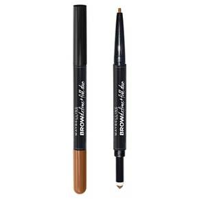 Achieve smooth and full brows with this two-in-one eyebrow pencil. Use the pencil to shape and filling powder to fill.<br><br>• Two-in-one eyebrow pencil<br>• Define with pencil and fill with powder to finish<br>• Achieve smoother, fuller brows<br><br>Step 1. Define and set eyebrows with the defining wax pencil using short and light strokes. <br>Step 2. Fill in with the powder along the natural brow contour.