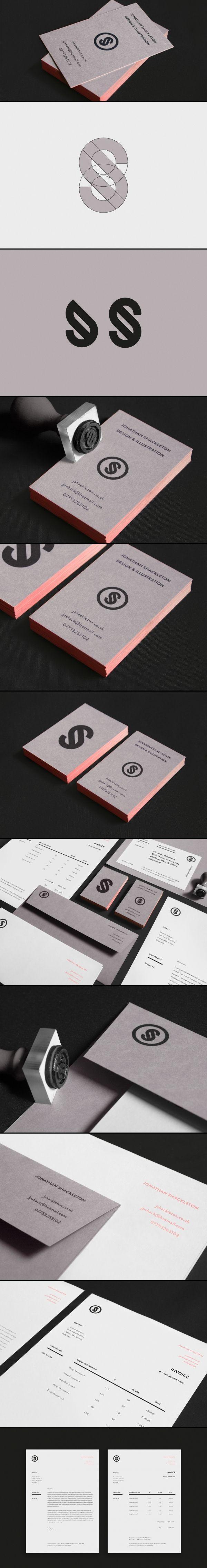 Corporate design logo business card identity