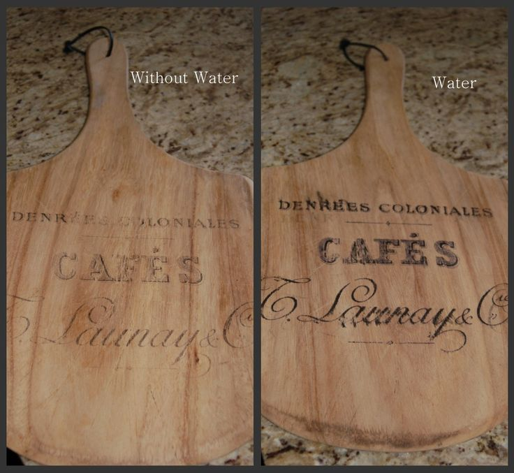 Transfer images onto wood using Wax Paper - Transfer Tutorial