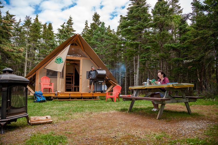 Stay overnight - Gros Morne National Park