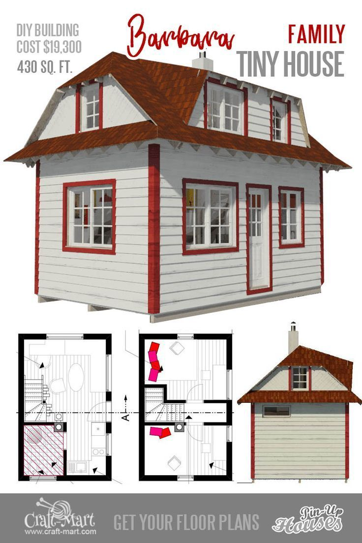 9 Plans Of Tiny Houses With Lofts For Fun Weekend Projects Craft Mart Tiny House Loft Micro House Plans House Plans