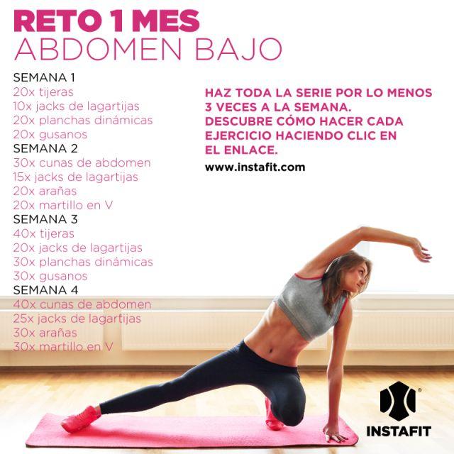 ejercicios para abdomen bajo                                                                                                                                                                                 Más