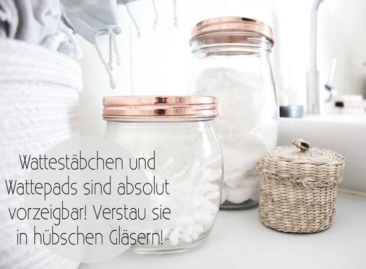 Die 25+ Besten Ideen Zu Badezimmer Aufbewahrung Auf Pinterest ... Badezimmer Aufbewahrung