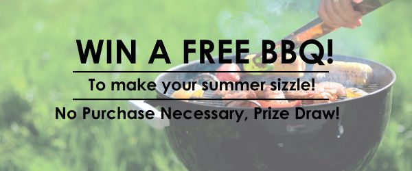 Win a Free BBQ competition! Ending soon 30/06/2015! #Makeyoursummersizzle
