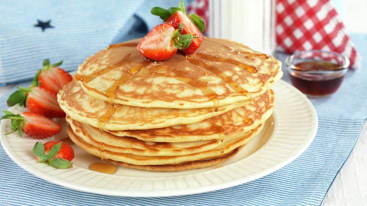 Amerikanske pannekaker oppskrift - MatStart