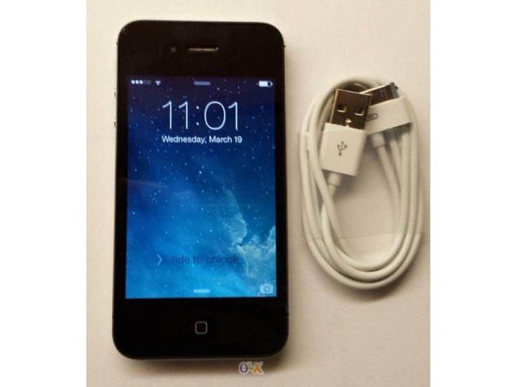 """""""Apple Iphone 4 16gb"""" - Hoje é Dia das Mentiras, mas no OLX gostamos de lhe contar boas verdades. Se procura um telemóvel, procure no OLX! Encontra certamente o que precisa a um preço que nunca imaginou! Se Vale X, OLX!"""
