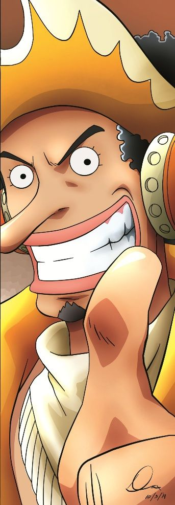 Usopp | 15th Anniversary | by yifeicryst.deviantart.com on @DeviantArt