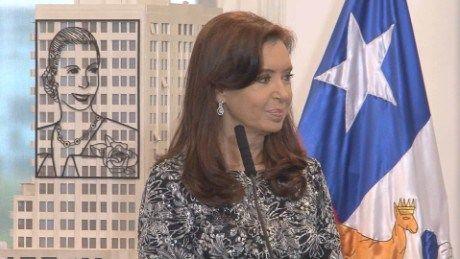 EX-PRESIDENT CRISTINA FERNANDEZ DE KIRCHNER'S APARTMENTS RAIDED