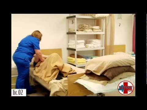 Supported Side Lying Position CNA Skill
