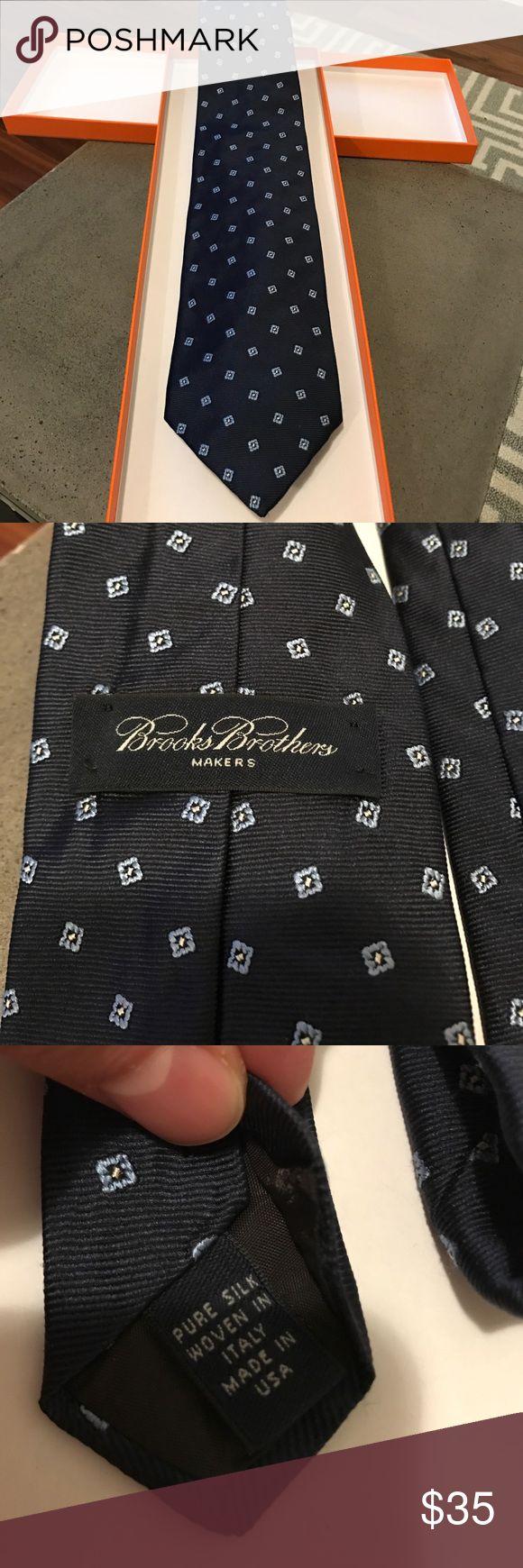 Brooks Brothers Tie Brooks Brothers Navy tie Brooks Brothers Accessories Ties