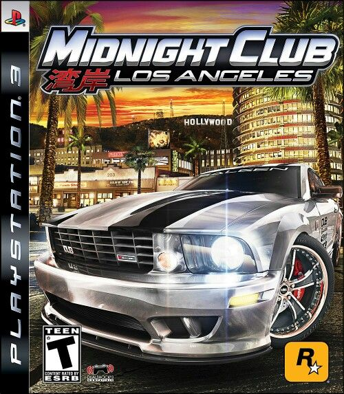 Midnight Clup - Los Angelos  Playstation 3 PS3 Games Cover