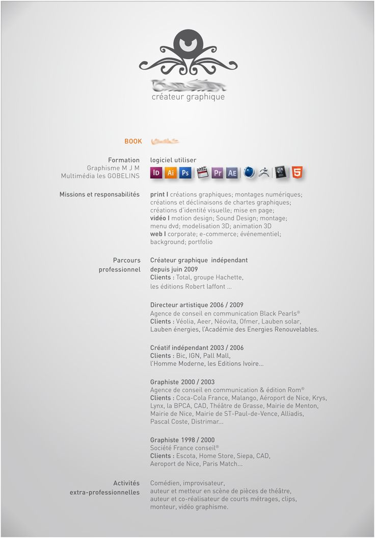 127 Best Resume/cv Images On Pinterest | Resume Cv, Cv Design And Cv Ideas