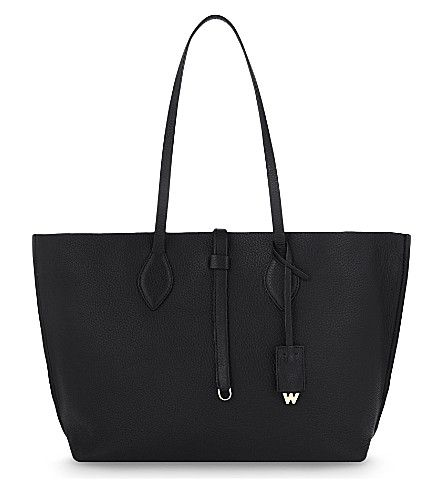 WHISTLES Regent Soft Tote. #whistles #bags #leather #hand bags #tote #
