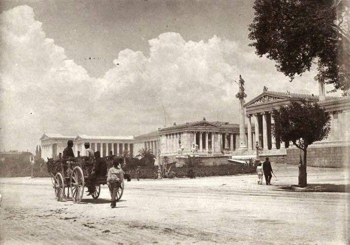 Οδός Πανεπιστημίου 1900