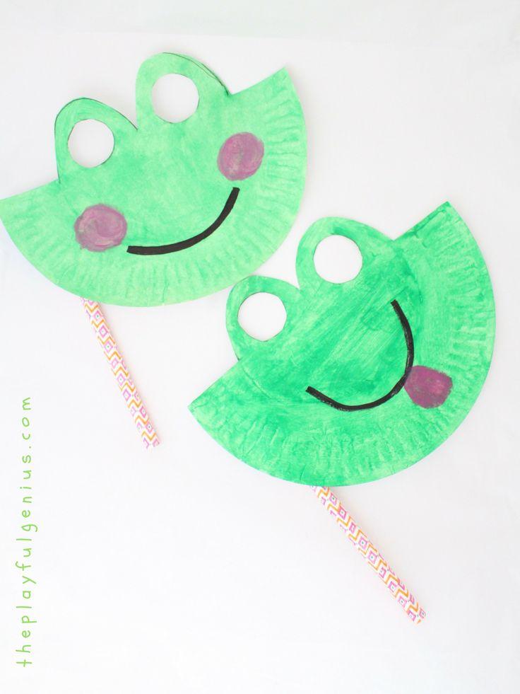 die besten 25 froschmaske ideen auf pinterest frosch handwerk vorschule maskenmalerei und. Black Bedroom Furniture Sets. Home Design Ideas
