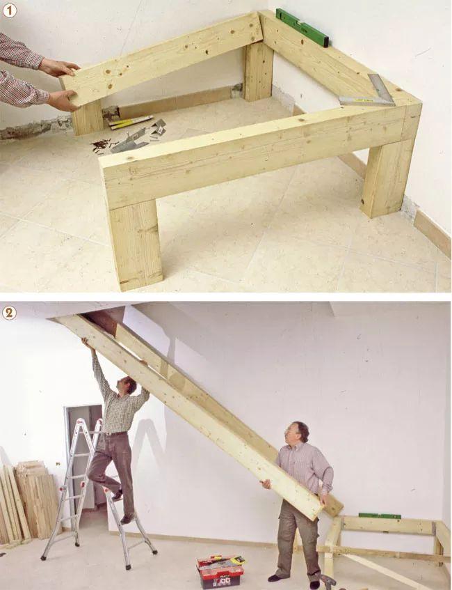 17 migliori idee su ringhiere delle scale in legno su - Legno per scale ...