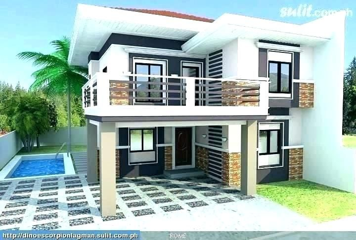 Design Simple Low Cost Budget Small Home In 2020 Philippines House Design Simple House Design Two Story House Design