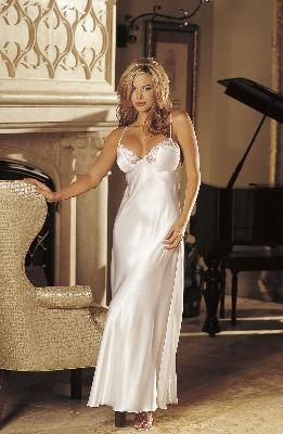 Luxury Long Gown Shirley of Hollywood from Ennia Lingerie UK at SHOP.COM UK