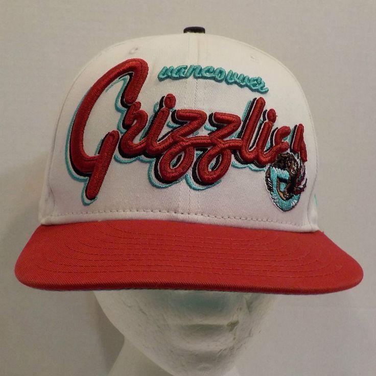 Vancouver Grizzlies Baseball Snapback Truckers Hat Cap NBA #NewEra #BaseballCap
