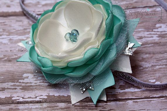 Need to get this one for our elsa dress Elsa - Frozen Inspired Headband