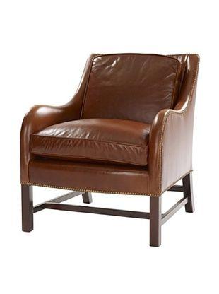 Leathercraft Lounge Chair (Vintage Bourbon)