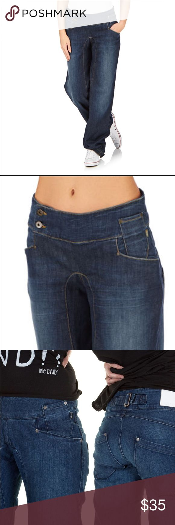 "Nikita Jeans Nikita Jeans come in a dark wash 3 front pockets, back cinching buckle, with a harem style fit and ankle adjustable buckles. 100% Cotton. Size: 27 Inseam: 32"". In like new condition. Nikita  Jeans"
