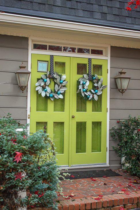 25 best ideas about double storm doors on pinterest for Wood front door with storm door