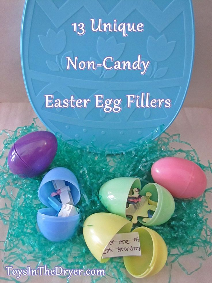 13 Unique, Non-Candy, Easter Egg Fillers | Toys In The Dryer