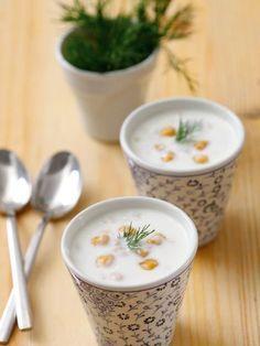 Nohutlu buğdaylı soğuk çorba Tarifi - Diyet Yemekleri Yemekleri - Yemek Tarifleri