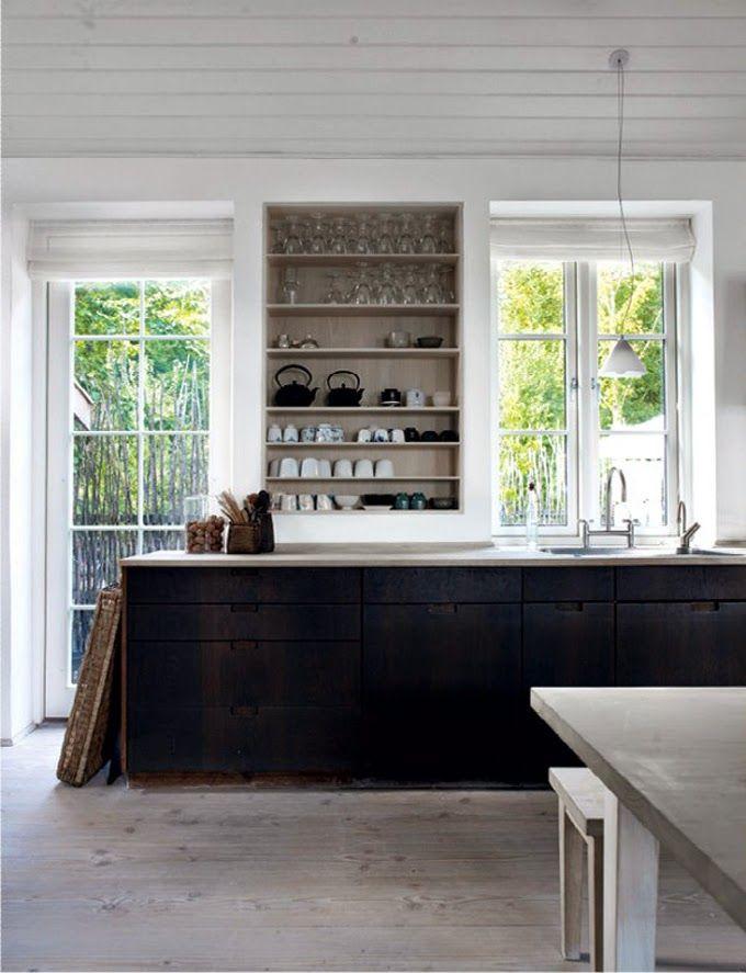 M s de 25 ideas incre bles sobre mostradores negros en - Mostradores de cocina ...