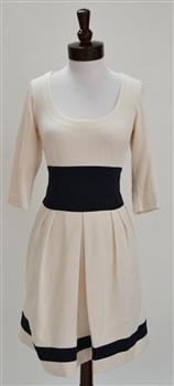 Nanette Lepore  Glamour Ponte Knit Colorblock Dress
